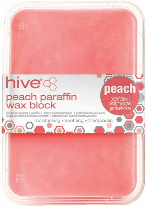 Hive Low Melt Paraffin Peach Block 450g