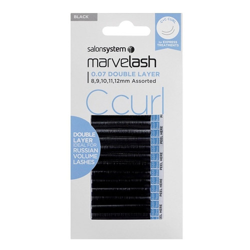 Marvelash C Curl 0.07 Double Layer Assorted