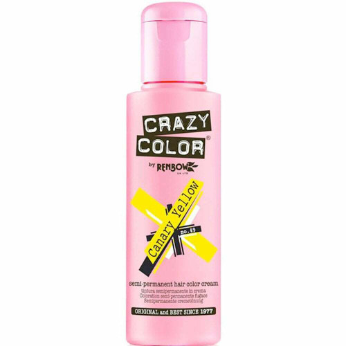 Crazy Colour Canary Yellow 100ml