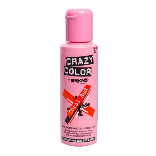 Crazy Colour Coral Red 100ml