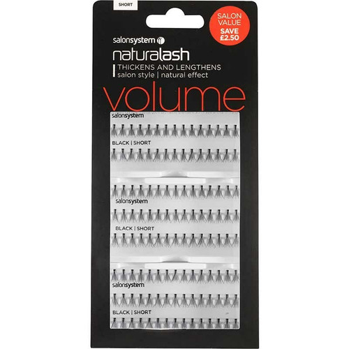 Individual Lashes Salon Value Short