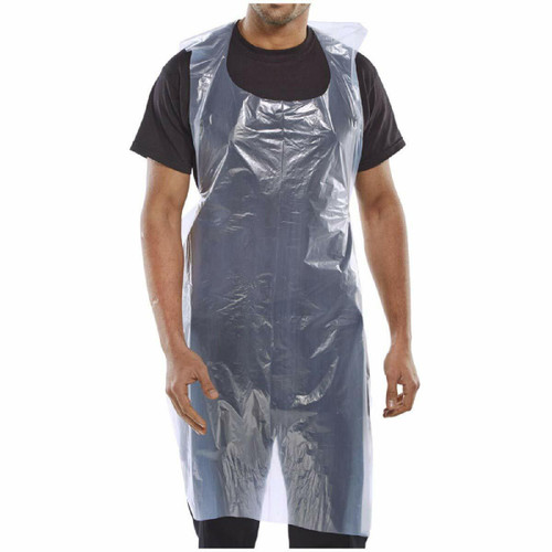 Disposable Aprons Clear Pack Of 100 (00240)