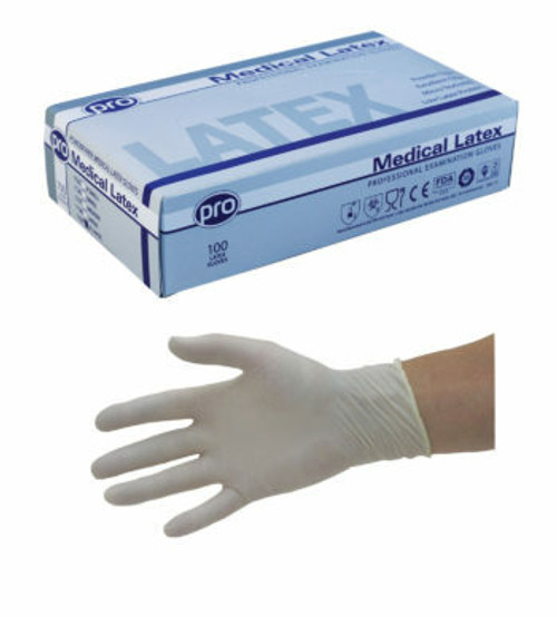 Agenda Latex Gloves Powder Free Large