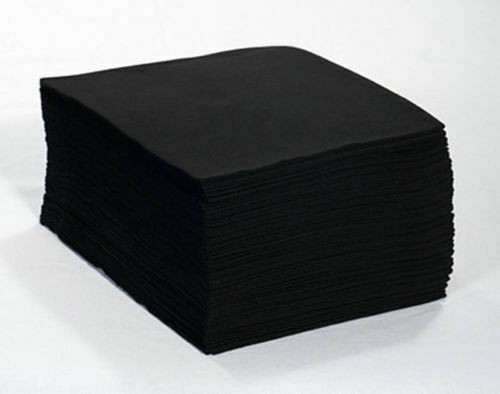 Disposable Towels Black x 50