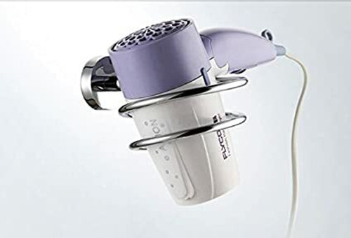 Hairtools Chrome Wall Hairdryer Holster