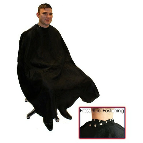 Hairtools Deluxe Barber Gown with Poppers