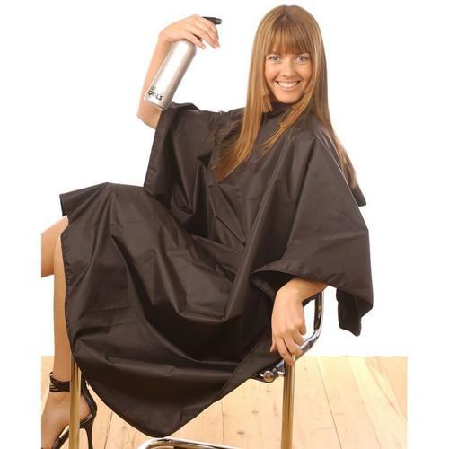 Hairtools Tint Proof Gown Black