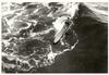 Wave Sliding, Surf Photograph, 1930s, Framed
