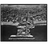 Aerial Photograph of the Original Venice Pier, circa 1930, Framed - IN STOCK