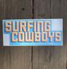 Surfing Cowboys Bumper Sticker