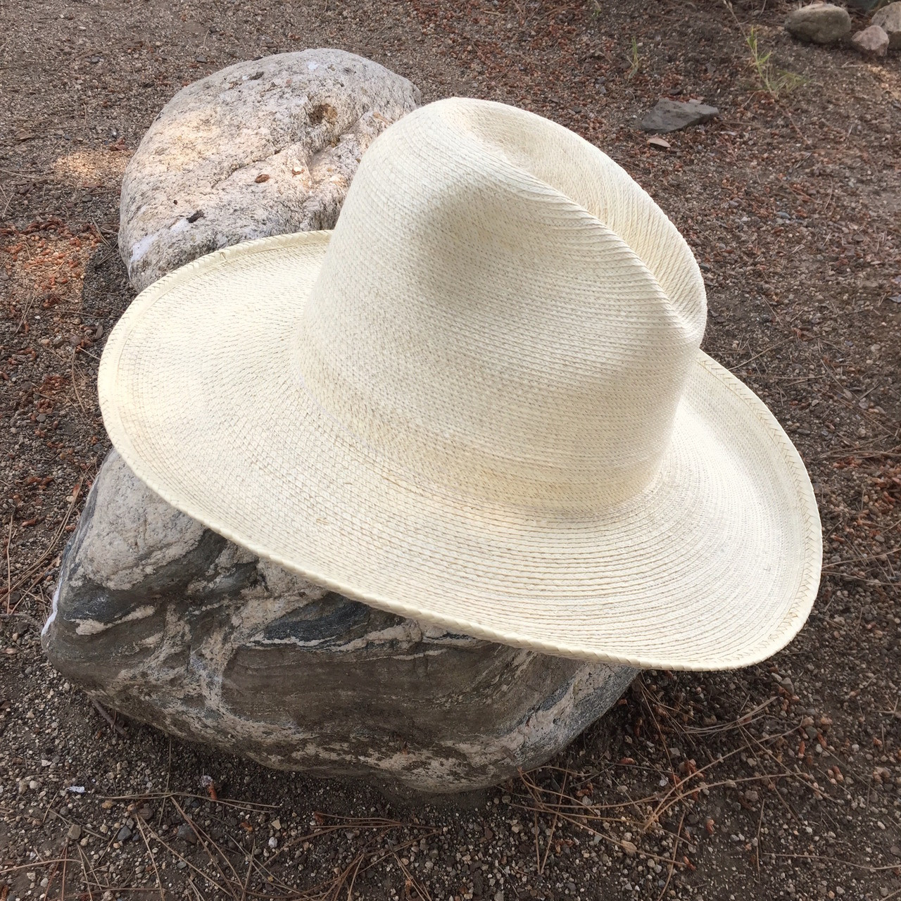 Buckaroo Palm Leaf Hat