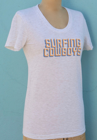 Surfing Cowboys Logo T-Shirt for Women