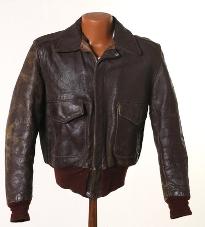 Steve McQueen's Personal Motorcycle Jacket and Gary Propper Signature Hobie Surfboard, Late 1960s