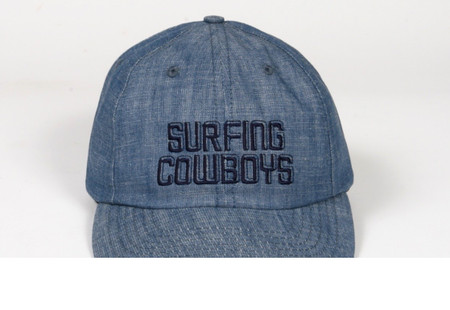 Surfing Cowboys California Style Denim Logo Cap  5 Made in the USA