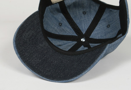 Surfing Cowboys California Style Denim Logo Cap  4 Made in the USA