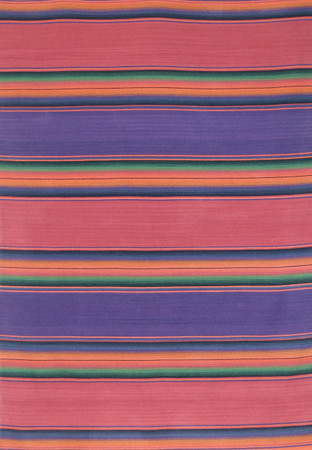 Merino Wool Serape Blanket Fuschia and Violet - in stock
