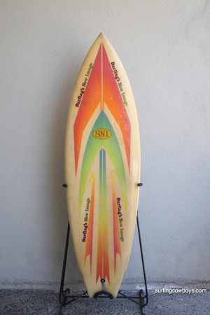 SNI Surfing's New Image short-board circa 1974