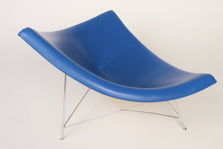 First Edition George Nelson for Herman Miller Coconut Chair c. 1960