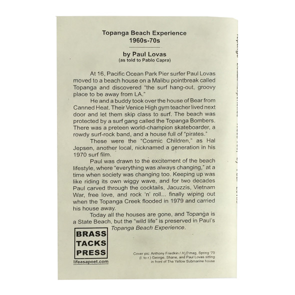 Topanga Beach Experience 1960's - 70's Paul Lovas