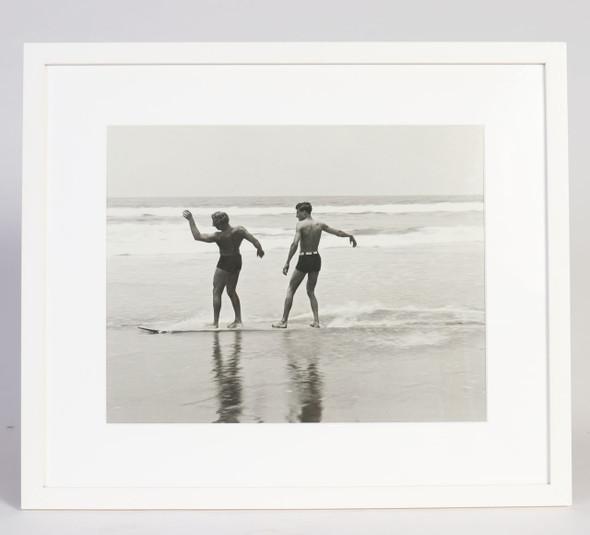 Twin-Skim 1930s Surf Photo Santa Monica CA