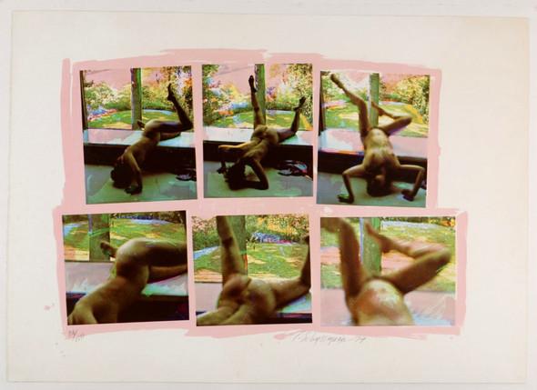 Carolee Schneemann Forbidden Actions Original Photo Screen-Print  1979