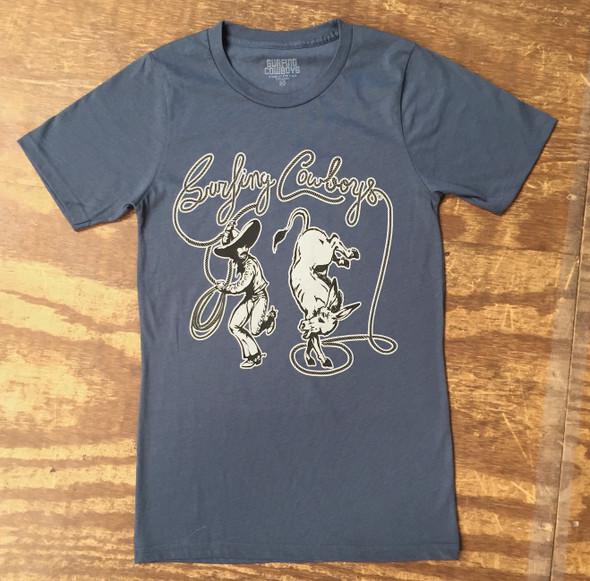 Kick Ass Tee Shirt Slate Blue