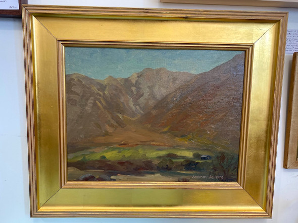 Lawrence A. Brunner California Landscape Painting