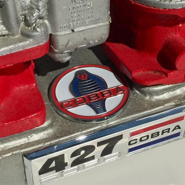 """427 Cobra """"Weber"""" Carburetor  Art Piece Circa 1970s"""