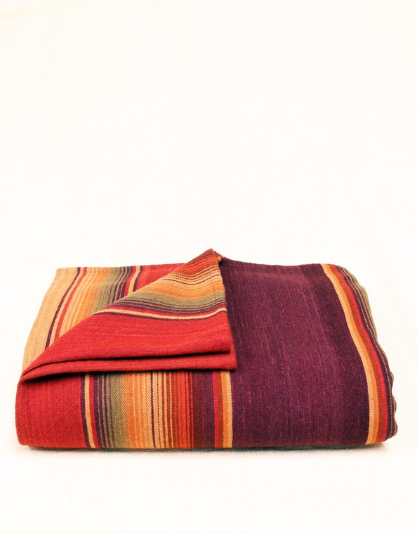 Handmade Merino Wool Serape Classico