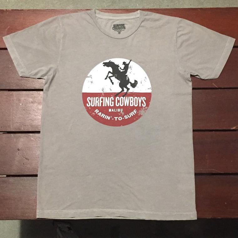 Rarin' To Surf Mens T-Shirt Slate