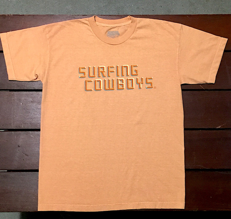 Surfing Cowboys Logo T-Shirt