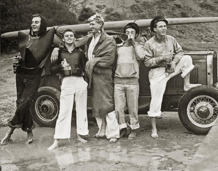 Sailors Vintage Photograph, San Onofre Beach 1930s