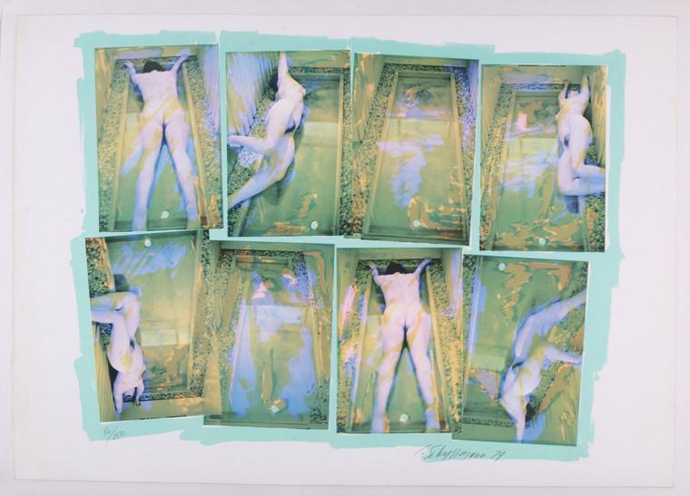Carolee Schneemann Museum Sarcophagus Photo Original Screen-Print 1979