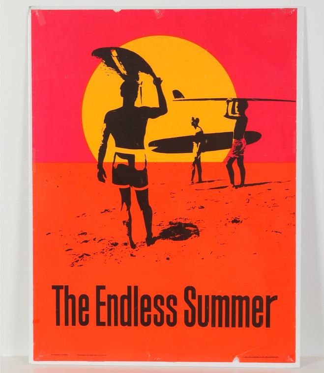 The Endless Summer Poster  1986 reprint