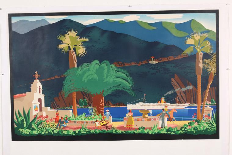 Catalina Poster - Authentic Original Vintage