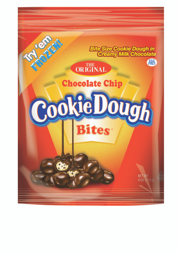 Chocolate Chip Cookie Dough Bites - 5 oz Peg Bag - 12 pack