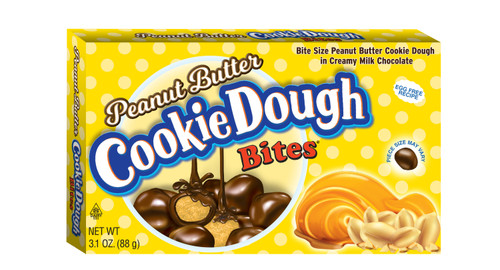 Peanut Butter Cookie Dough Bites - Theater Box - 12 pack