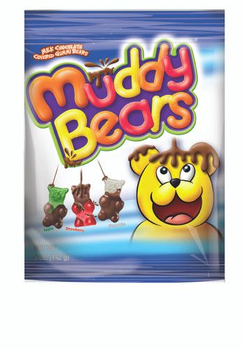Muddy Bears - 5 oz Peg Bag - 12 pack