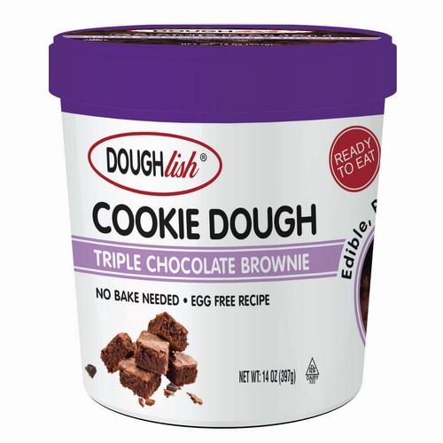 Triple Chocolate Brownie Doughlish Pints