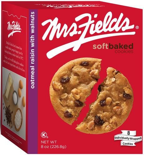 Oatmeal Raisin Cookies - 8 oz x 6