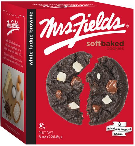 White Fudge Brownie Cookies  - 8 oz x 6