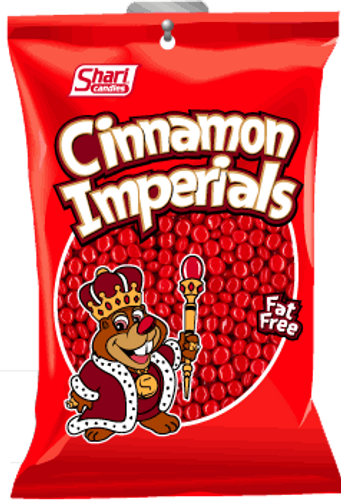 Cinnamon Imperials - 12 units per case