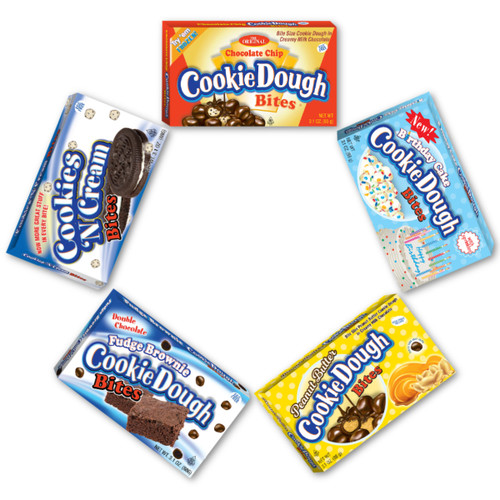 Cookie Dough Bites Variety Pack- Theater Box - 15 pack