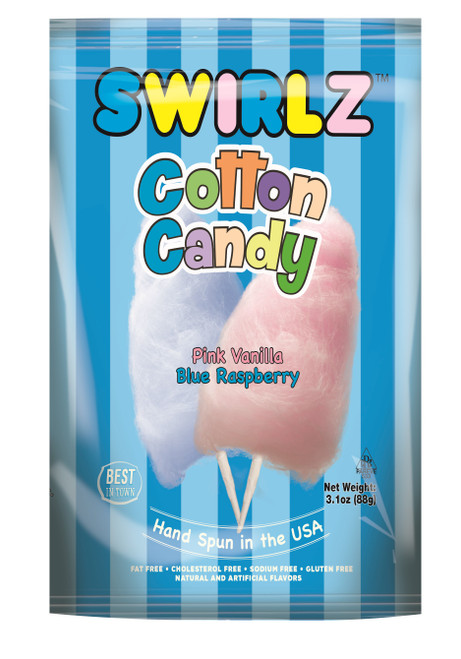 Swirlz Cotton Candy - 12 pack