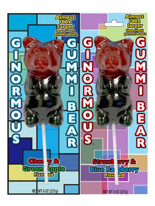 Ginormous Gummi Bear - 12 pack