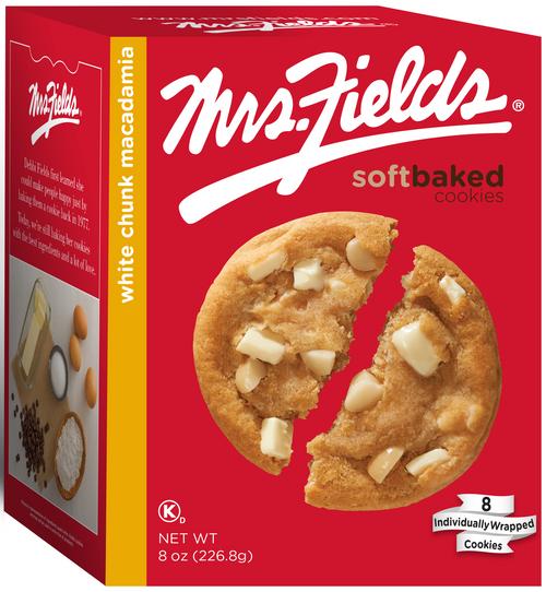 White Chunk Macadamia Cookies - 8 oz x 6