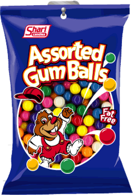 Assorted Gumballs - 12 units per case