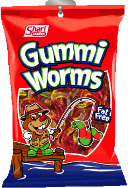 Gummi Worms - 12 units per case