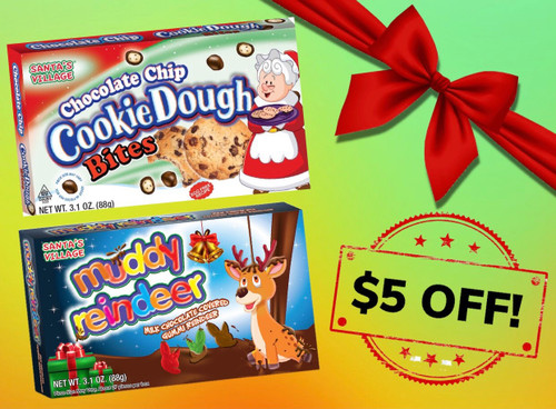 Santa's Village Twin Flavors- 24 pack, Buy Both! Get $5 OFF, Use coupon code: HOLIDAYDEAL!