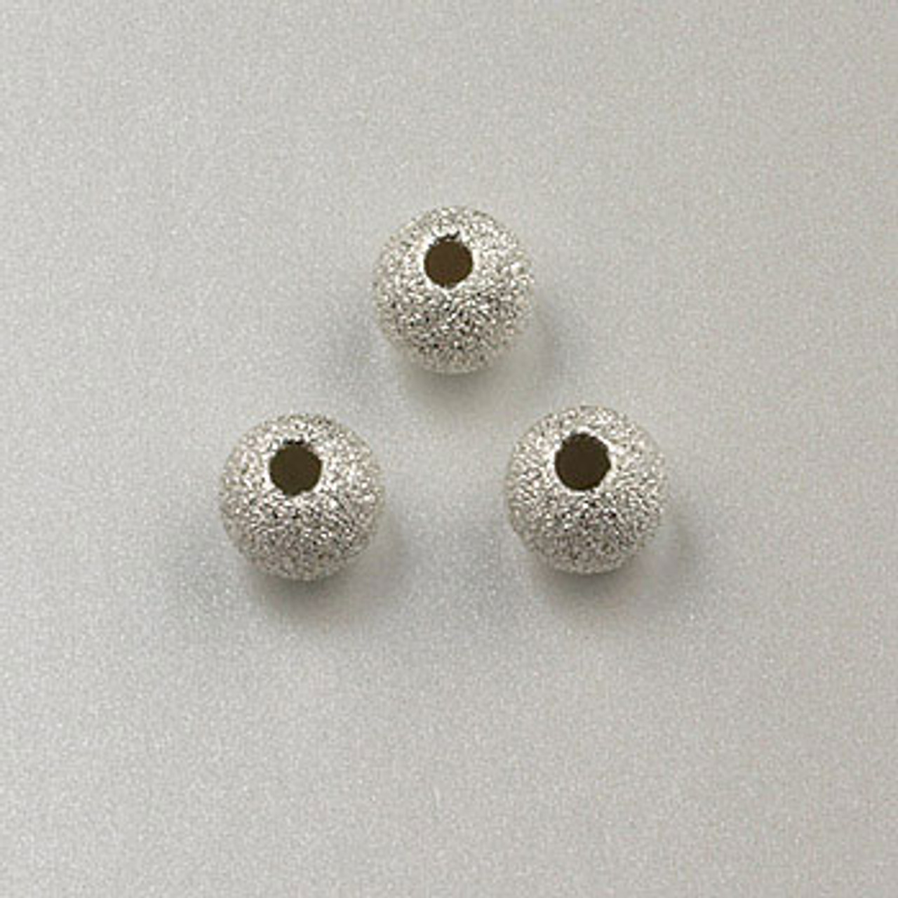 3mm Sterling Silver Roundel Beads Pkg 25